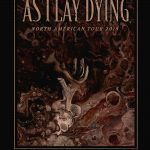 As I Lay Dying preforming live at The Rock!