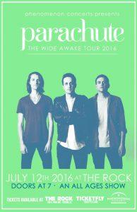 "Parachute ""The Wide Awake Tour"""