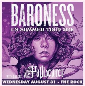 Baroness and Pallbearer