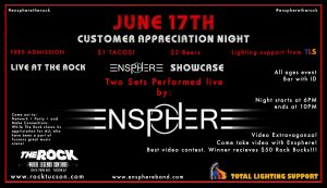 Ensphere The Rock/ Industry Networking Event