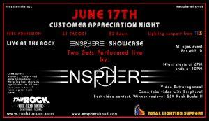 Ensphere The Rock/ Customer Appreciation Event