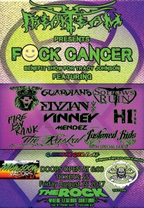 F*CK Cancer Benefit Show