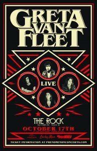 Greta Van Fleet- SOLD OUT!!!
