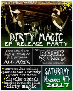 Dirty Magic EP Release Show