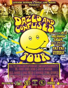 Dazed and Confused Tour Ft. KnuckleHeadz