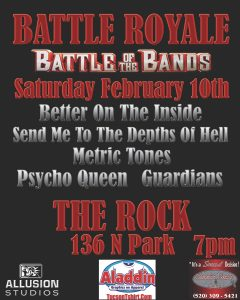 the rock tucson concert venue battle royale tucson arizona united states