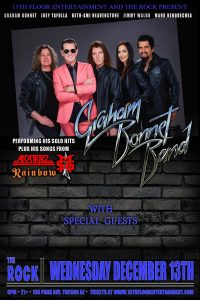 13th Floor Entertainment & The Rock Present Graham Bonnet Band