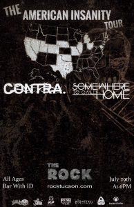 The American Insanity Tour Ft. Contra & Somewhere To Call Home