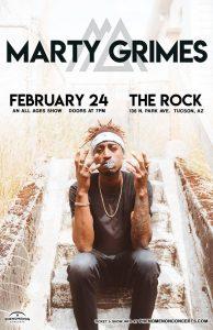 Marty Grimes - Cold Pizza Tour