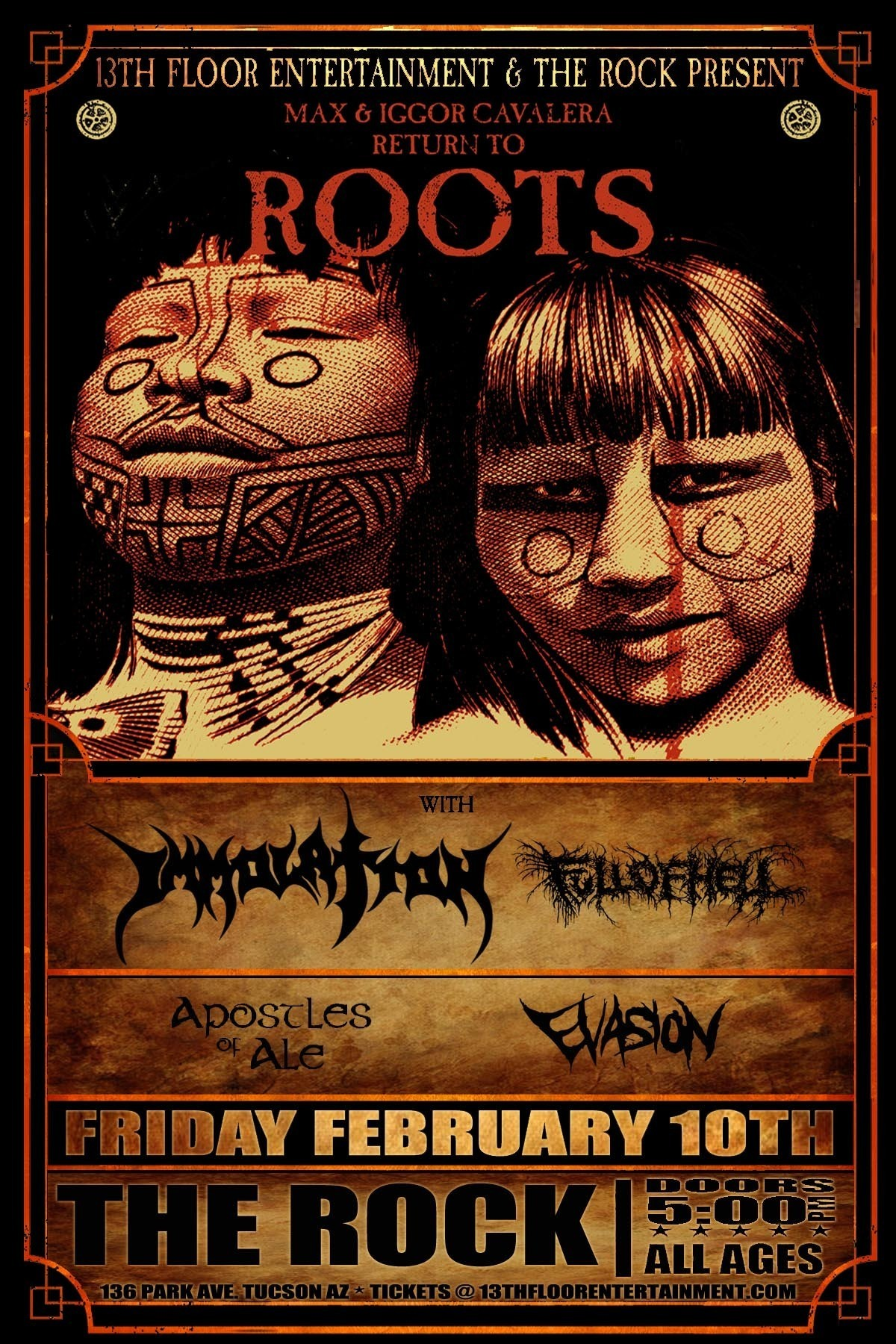 Presents Max & Iggor Cavalera Return