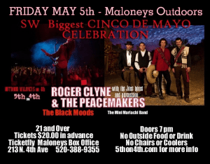 Maloney's on 4th Outdoor Cinco De Mayo Celebration @ Maloney's On 4th | Tucson | Arizona | United States