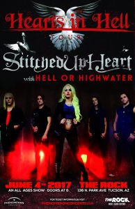 Stitched Up Heart W/ Hell or Highwater