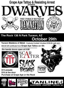 The Dwarves Halloween Show