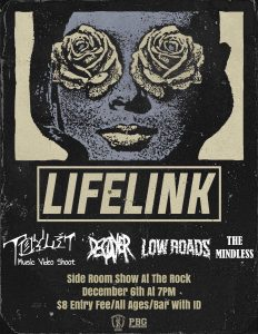 Side Room Music Video Show W/ Lifelink, Toylit, Decayer, and Low Roads