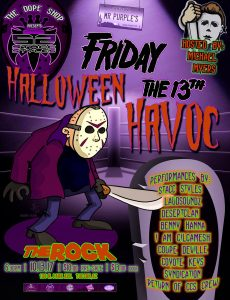 Dope Shop Presents: Mr. Purple's Halloween Havoc